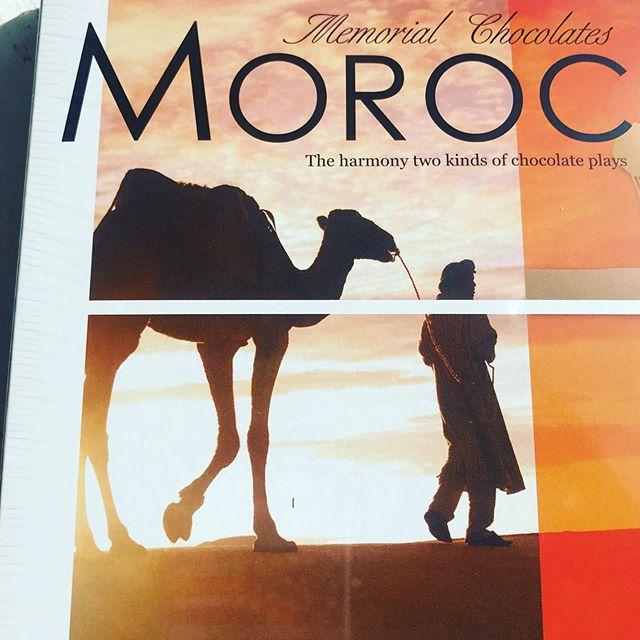 ラクダに揺られてモロッコの夕陽️ いいなぁ〜 お土産を頂いてお写真を見せて頂いて🤳サハラ砂漠をチラ見した気分にさせて頂きました️ いつもありがとうございます